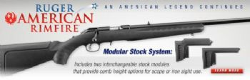 Ruger American 17HMR Rimfire® bolt-action rifle